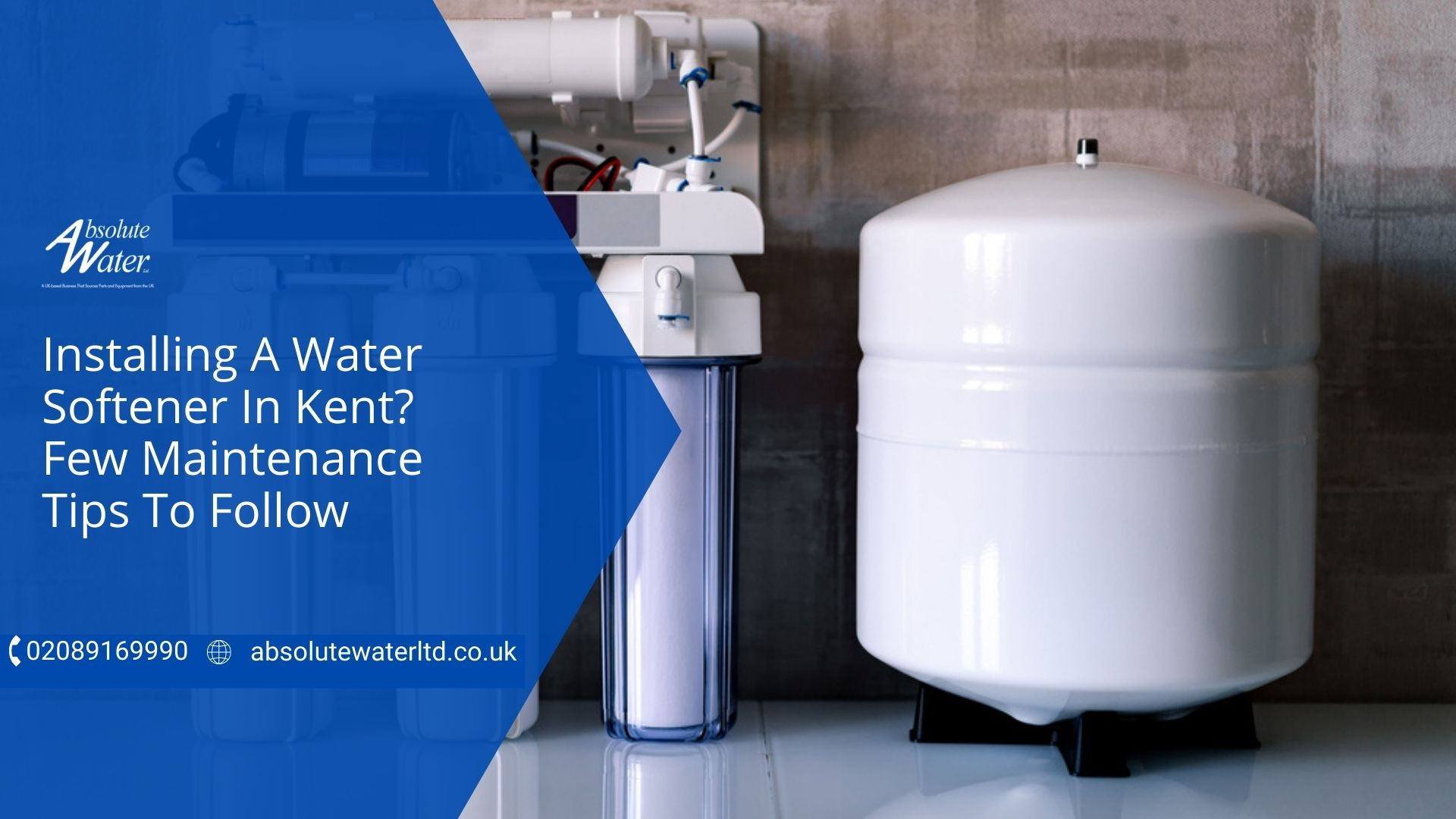 Absolute Water Ltd Installing Water Softeners Kent