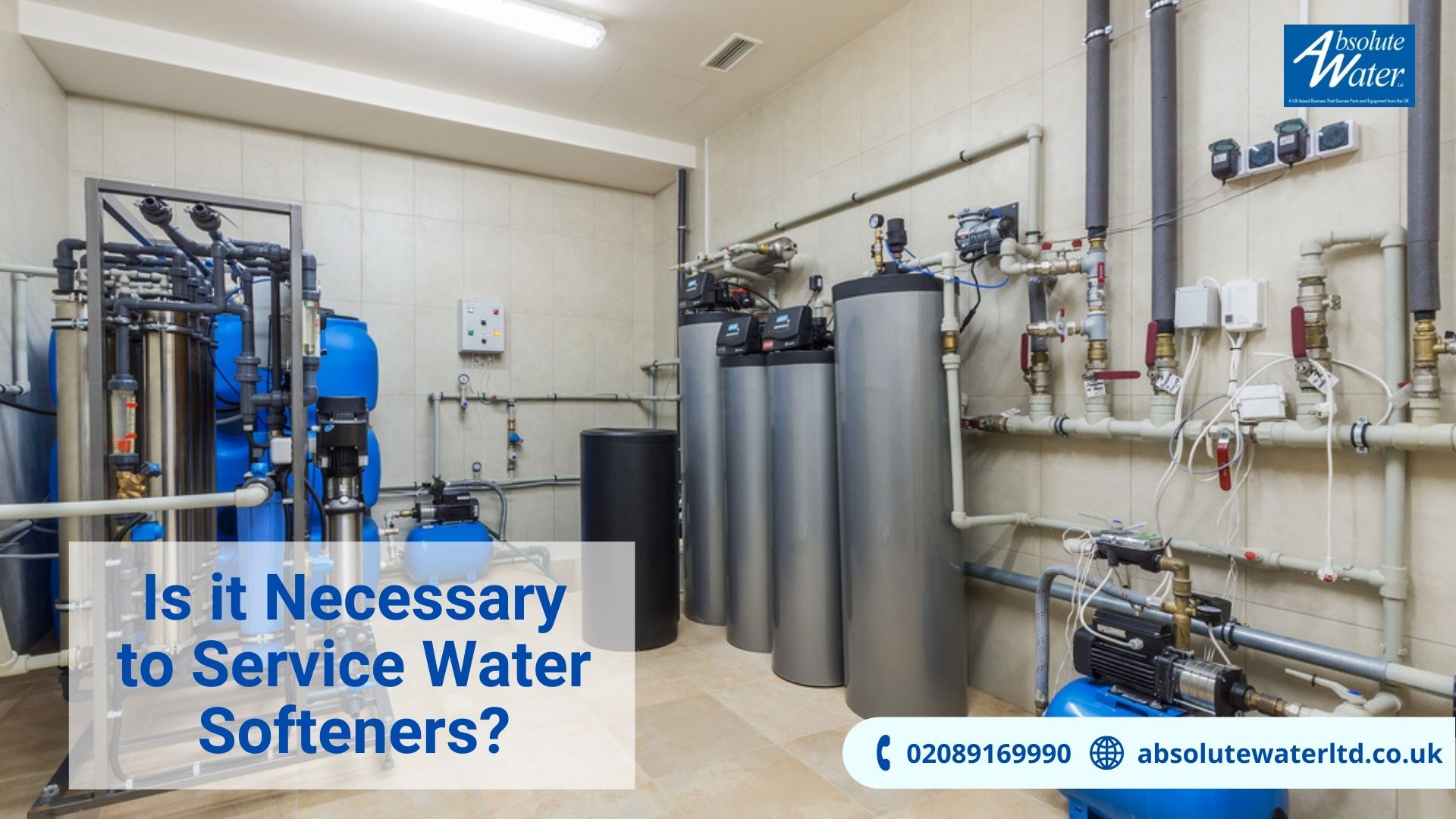 Absolute Water Ltd Servicing Water Softeners