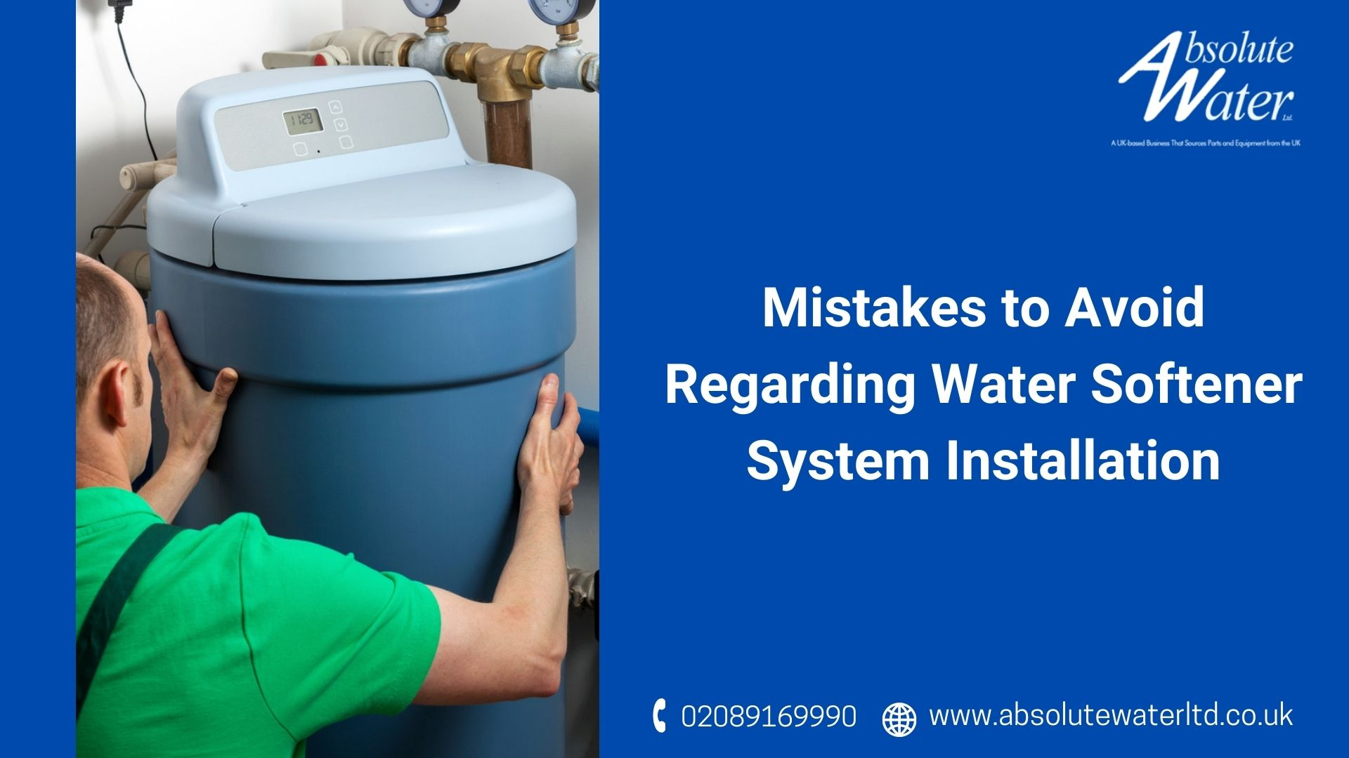 Avoid Mistakes Water Softener System Installation Surrey